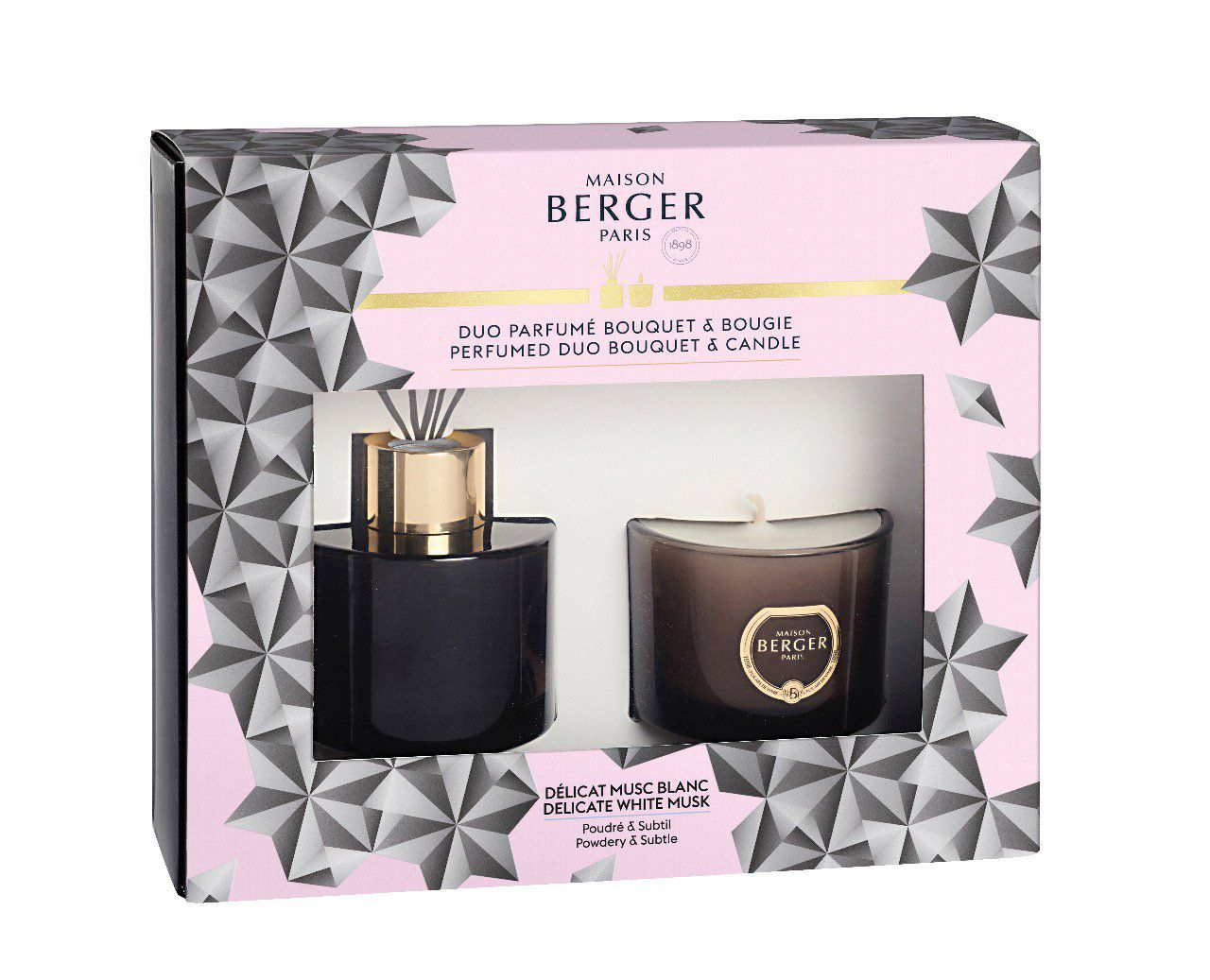 COFFRET BLACK CRYSTAL MINI DUO - PARFUM BERGER