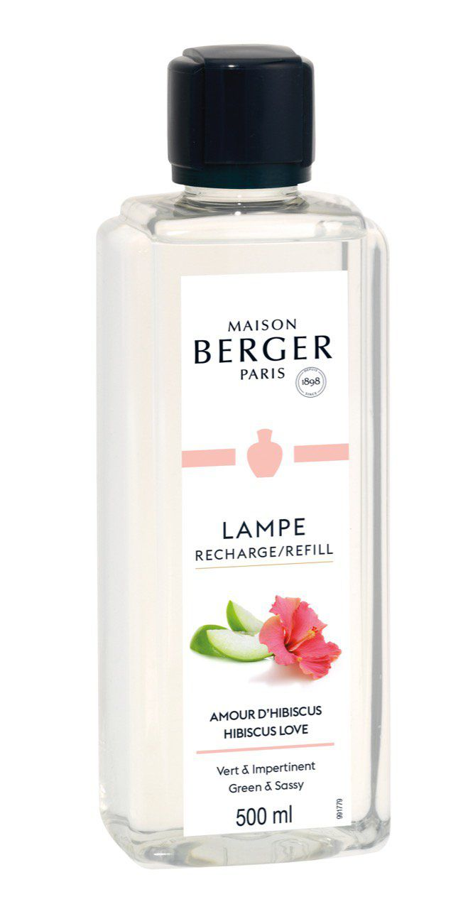 Recharge Amour d'Hibiscus 500ml -  Lampe Berger