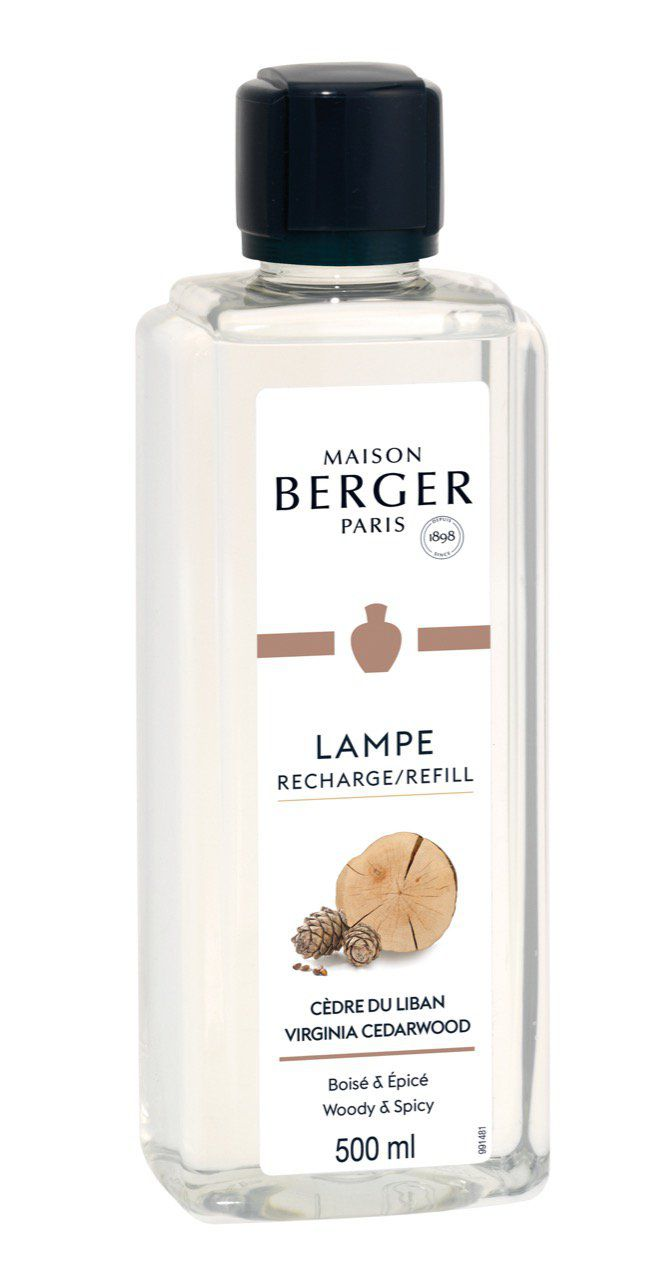 Recharge Cèdre du Liban 500ml - Lampe Berger