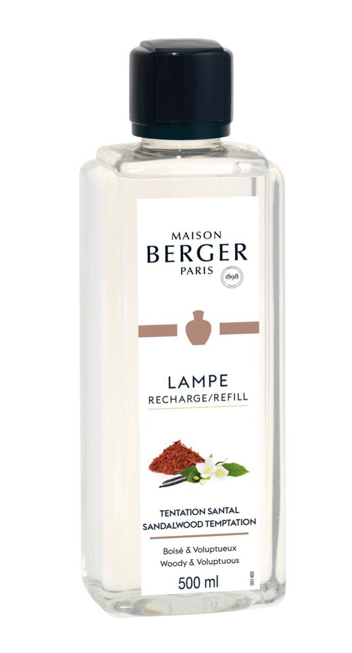Recharge Tentation Santal 500ml -  Lampe Berger
